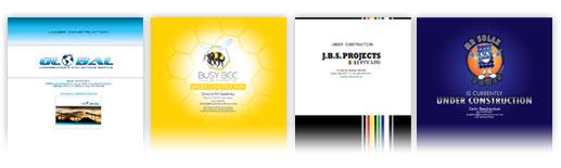 Website Splash Pages