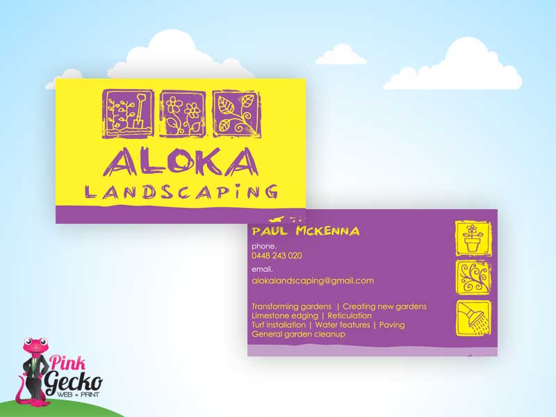 Business cards adelaide pink gecko web print business cards reheart Gallery