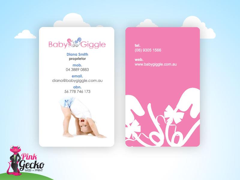 Business Cards   Pink Gecko Web + Print