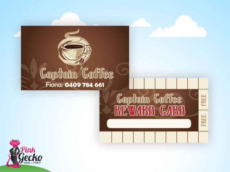 Business Cards Rockingham | Pink Gecko Web + Print