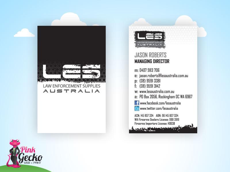 Business Cards Rockingham | Pink Gecko Web + Print