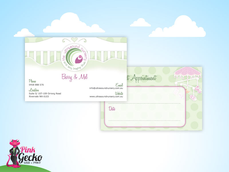 Business Cards Perth | Pink Gecko Web + Print