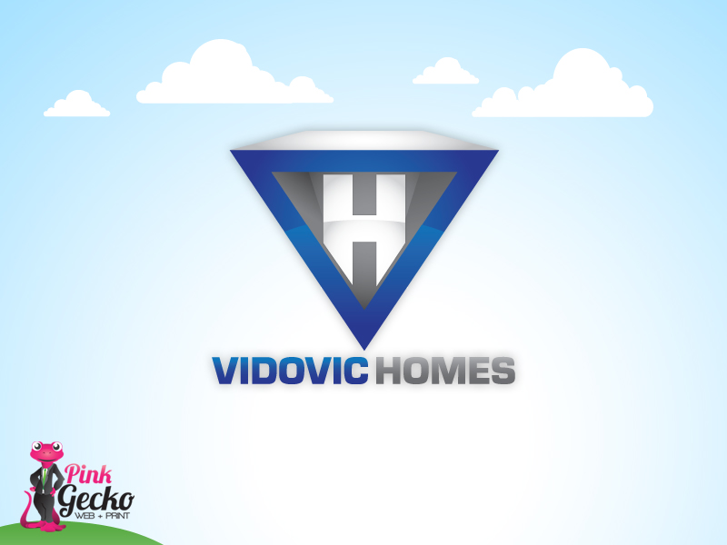 Logo Design Perth: Vidovic Homes Logo Part 55